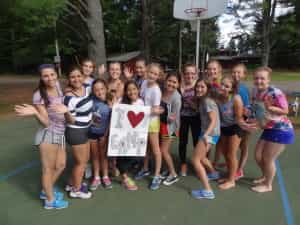 Girls Camp Overnight eagle river wisconsin